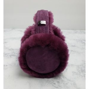 UGG Australia Plum Wired Earmuffs, EUC